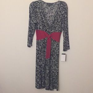 👗NWT Connected Apparel Black & White Dress - 10